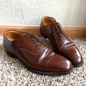 Church's Consul Leather Oxford Walnut Dress Shoes